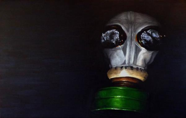 Piece #12 (Little Elephant - Gas Mask)