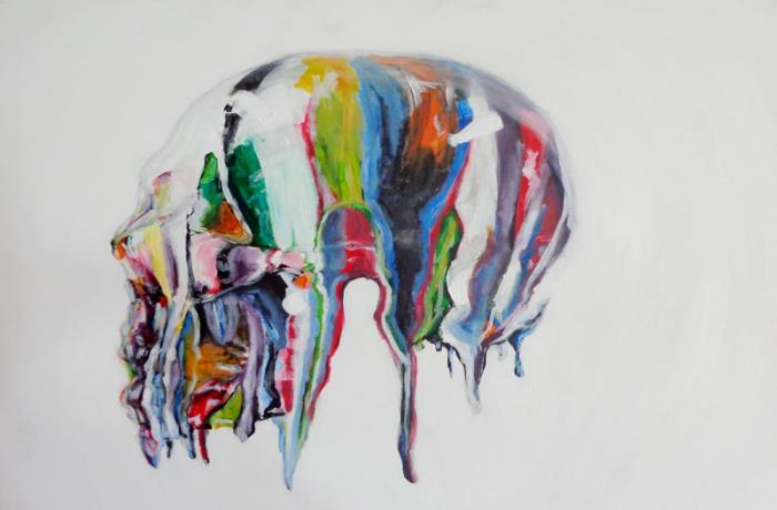 Piece #16 (Drip - Skull | Lateral)