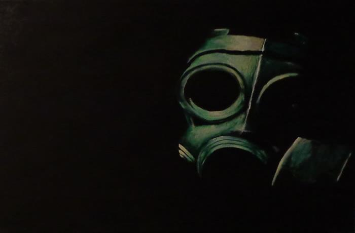 Piece #3 (Gas Mask)