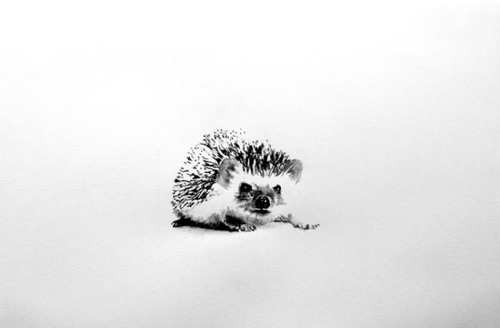 Piece #W021 (Hedgehog)