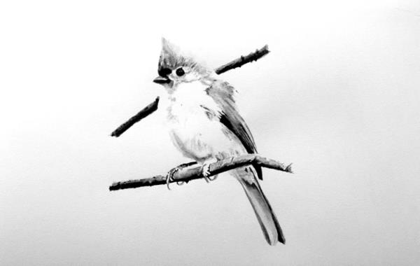 Piece #W028 (Titmouse)
